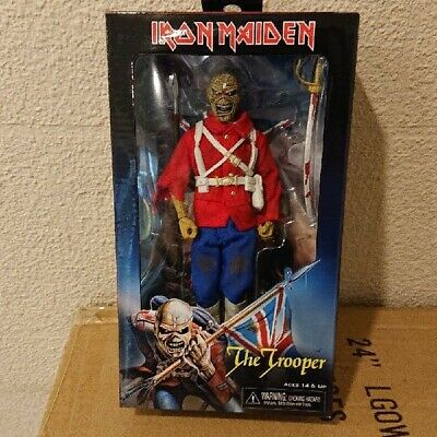 NECA IRON MAIDEN The Trooper High Quality Action Figure • 120.30£