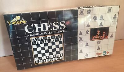 Childrens Chess Set 5+ Factory Sealed Funtastic Games FREEPOST • 7.99£