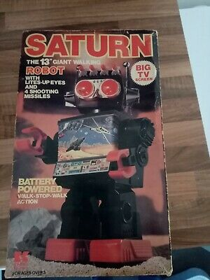 Saturn Giant Walking Robot Collectable Toy • 150£