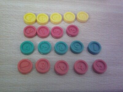 Vintage 1985 Downfall Spare Colour Counters Choose From The List • 1£