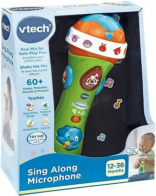 New VTech Sing Along Microphone • 13£