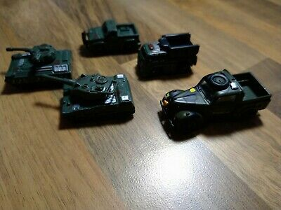 Diecast Toy Model Tanks And Military Vehicles Like Micro Machines • 1.40£