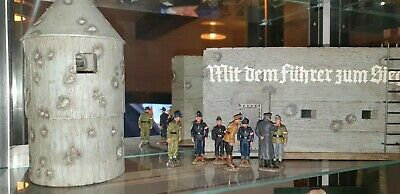 King And Country Ww2 German Bunker And Vent And Figures Boxed  • 775£