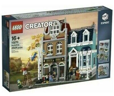 Lego Creator Bookshop 10270 -  New Sealed Box✅ FREE 1 DAY DELIVERY 📦 • 189.99£