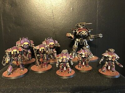 Adeptus Titanicus Reaver And Knights Well Painted • 110£
