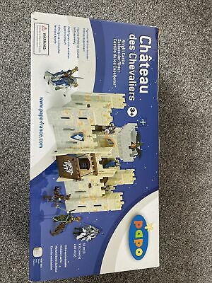 Papo Knight Castle, With Two Free Figures, 3+ • 35£