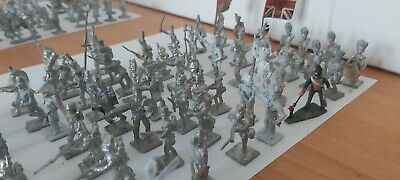 White Metal Napoleonic British/French 71 In Total • 18£