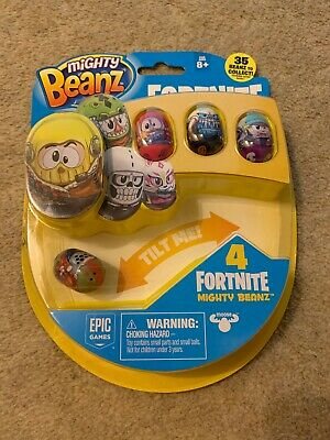 Fortnite Mighty Beanz New  4 Included • 12.99£