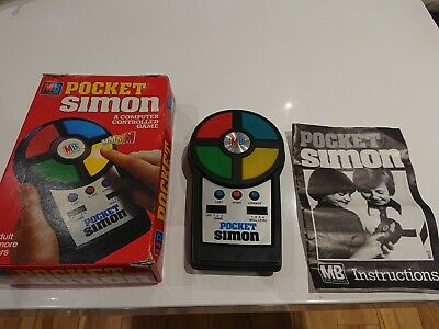 MB Electronics Vintage Pocket Simon Game Tested Very Good Working Order • 16£