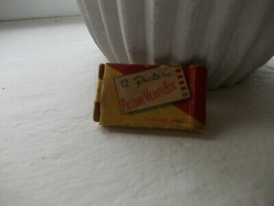 Vintage Miniature Picture Viewer Box 12 Pictures • 10£