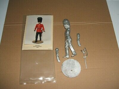 Tradition 100mm Casting Officer Scots Guards 1988 • 9.99£