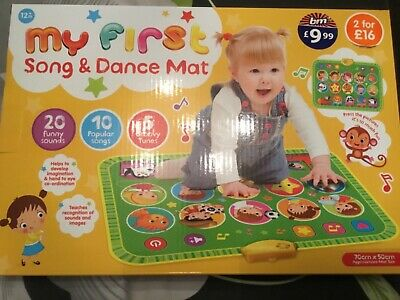 New My First Song And Dance Mat • 8.50£