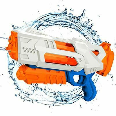 Balnore Biggest Water Gun, Transparent Fast Fill Water Blaster 3 Nozzles For • 14.99£