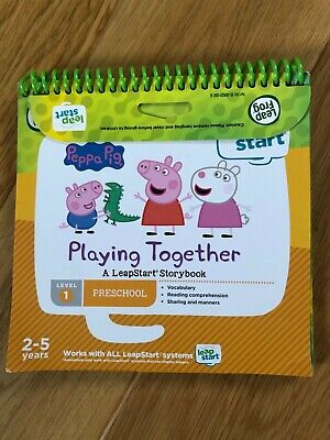 LeapFrog 460403 3D LeapStart Peppa Pig Story Book Learning Toy • 5£
