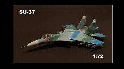 Display Military Model 1/72 Scale Plane SU-37  • 14.99£