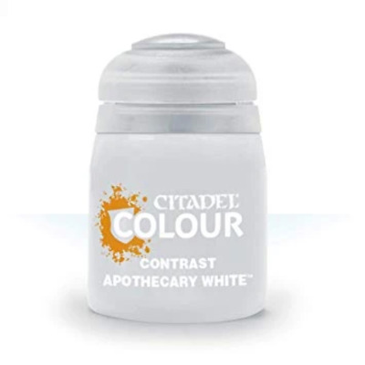 Apothecary White Contrast Paint 18ml • 5.98£