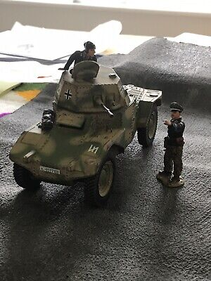 King And Country WSS 125 German Panhard Armoured Car With 2 Crew Disontinued Veh • 135£