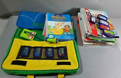 LeapFrog LeapPad - Carry Case, Books, Cartridges & Microphone (B47/01/CC) • 5£