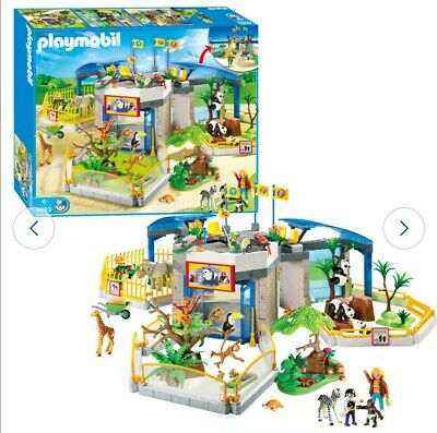 Playmobil 4093 City Life Animal Zoo Brand New Special Offer • 85£