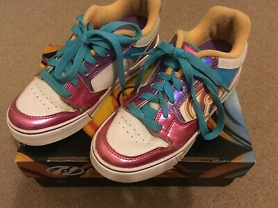 Girls Heelys, Size 3, Good Condition, With Box  • 6.99£