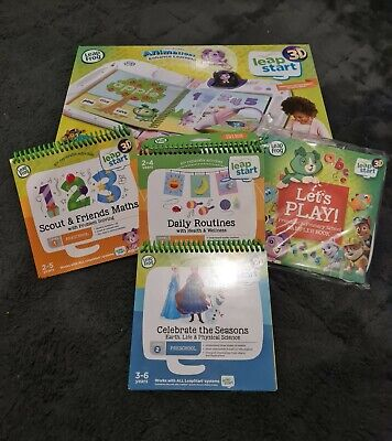 LeapFrog, Leap Start 3D Boxed! 4 Books!  • 69.99£