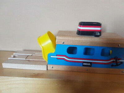 BRIO 33682 Ferry Ship For Wooden Railway With Light & Sound • 4.20£