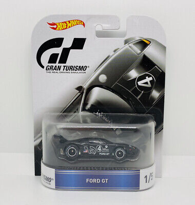 Hot Wheels Retro Entertainment Gran Turismo Ford GT - Real Riders • 9.99£