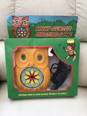 VERY RARE 1970s VINTAGE LIGHT SENSOR SHOOTING GAME BOXED New Old Stock • 4.99£