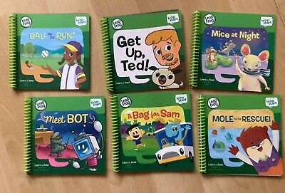 6 Leapfrog Leapstart Learn To Read Books • 21£
