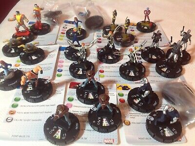 Heroclix Marvel Wolverine & The X-men Lot. Commons Over 20 Figures. Bargain.  • 6£
