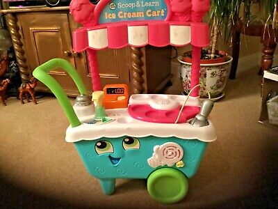 LeapFrog/ Leapster 600700 Scoop & Learn Ice Cream Cart • 12£