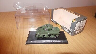 Armour Collection 1:72 Scale Sherman Tank (UK) M4-A2 (76) Art 3133 • 3.50£