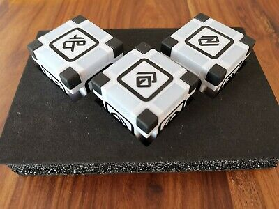 Anki Cozmo Cosmo Robot Block Cubes FULL SET X3 Tested And New Batteries • 70£