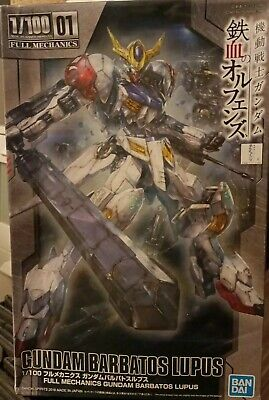 UK Stock. Bandai Gundam Barbatos Plus 1/100 Free Post • 55£