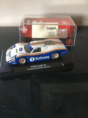 NSR Ford MK IV ROTHMANS LIMITED EDITION' #1 0018 Scalextric Compatible • 60£
