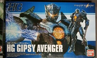 UK Stock. Bandai Pacific Rim HG Gipsy Avenger + Head Stand Free Post • 34£