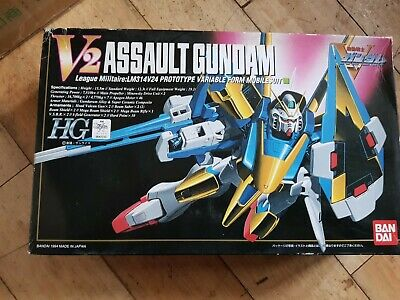 UK Stock. Rare HG 1/100 V2 Assault Gundam  Free Post • 37£