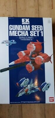 UK Stock. Rare 1/144 Gundam Seed Mecha Set 1 Free Post • 35£