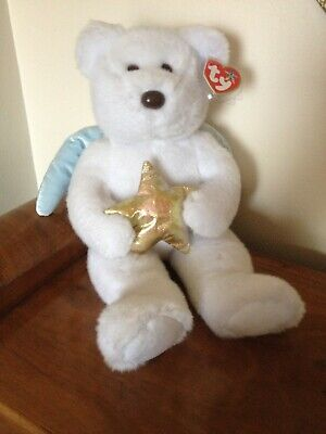 TY Large Bear - Star - Retired - Tag And Protector - New Condition • 19.95£