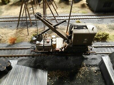 HO Roco Minitanks Patton's 3rd Army Railway Car #A951 Hand Painted • 97.67£