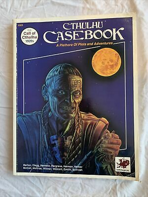 Call Of Cthulhu - Cthulhu Case Book 1920's • 8.50£