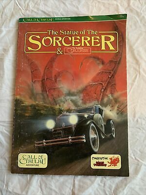 Call Of Cthulhu Rpg - The Statue Of The Sorcerer And The Vanishing Conjurer • 8.70£