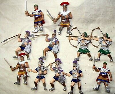 Early Learning Centre Elc Roman Gladiators Centurion Etc Figures Toy Soldiers • 14.99£