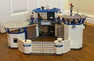 Playmobil 6919 City Action Police Station With Prison, With Instructions • 14.99£
