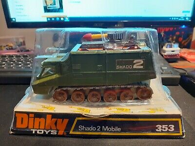 Dinky Toys No 353 Shado 2 Mobile Boxed • 119.95£