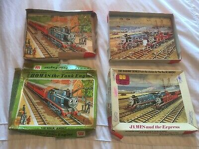 Thomas The Tank Engine And James And The Express Wooden Puzzle Vintage • 9.95£