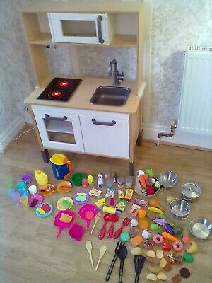 Ikea Duktig Play Kitchen & Accessories - Leeds Can Deliver • 55£