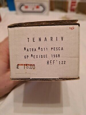 Tenariv 1/43 Matra MS11 Pesca GP Mexique 1968 • 0.99£