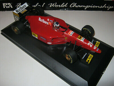 1:18 Ferrari 412T1 G.Berger 1994 Full Tabacco Minichamps IN Showcase Top • 75.35£