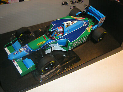 1:18 Benetton Ford B194 J.Verstappen 1994 Minichamps Boxed New With Service • 141.88£